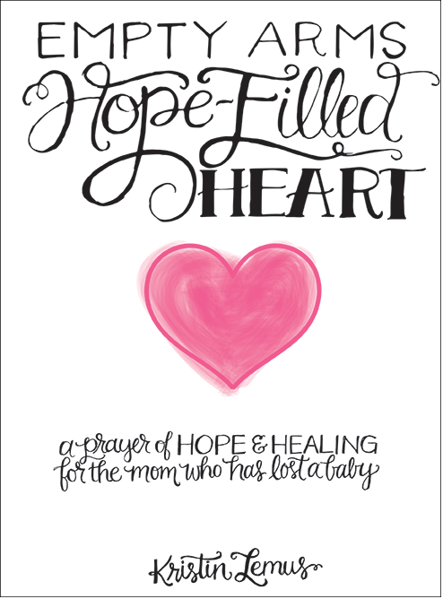 Empty Arms, Hope-Filled Heart book by Kristin Lemus - The Beautiful Deep