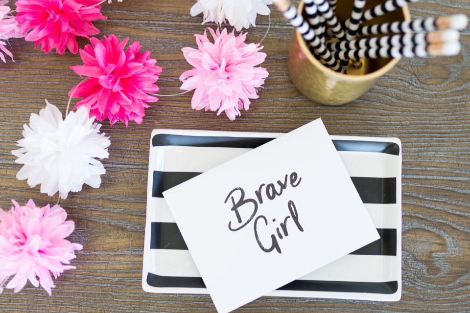 Embrace Grace - Brave Girl - The Beautiful Deep